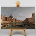Big Box Art Grand Canal, Venice by Giovanni Canaletto Art Print on Canvas