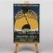 Big Box Art Music Festival Vintage Advertisement on Canvas