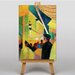 Big Box Art Tightrope Walker No.2 by August Macke Art Print on Canvas