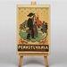 Big Box Art Pennsylvania No.5 Vintage Advertisement on Canvas