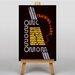 Big Box Art Training in Art Vintage Advertisement on Canvas