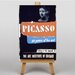 Big Box Art Picasso Vintage Advertisement on Canvas