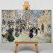 Big Box Art The Boulevard by Jean-Francois Raffaelli Art Print on Canvas