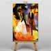 Big Box Art Couple with Daughter by August Macke Art Print on Canvas