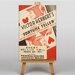 Big Box Art Fortune Teller Vintage Advertisement on Canvas