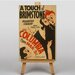Big Box Art A Touch of Brimstone Vintage Advertisement on Canvas