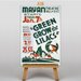 Big Box Art Green Groq the Lilacs Vintage Advertisement on Canvas