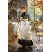 Big Box Art In the Dining Room by Berthe Morisot Art Print on Canvas