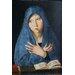 Big Box Art Maria in Blue by Antonello da Messina Art Print on Canvas