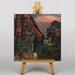 Big Box Art The Graveyard by Henry Le Fauconnier Art Print on Canvas