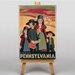 Big Box Art Pennsylvania Graphic Art on Canvas