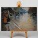 Big Box Art Berlin Street No.2 by Lesser Ury Art Print on Canvas