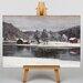 Big Box Art Winter Landscape No.3 by Victor Westerholm Art Print on Canvas