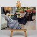 Big Box Art Seated Women by Gustave Caillebotte Art Print on Canvas