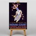 Big Box Art Indian Court Vintage Advertisement on Canvas