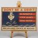 Big Box Art Don't Be a Drip Vintage Advertisement on Canvas