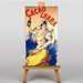 Big Box Art Cacao Lhara Vintage Advertisement on Canvas