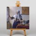 Big Box Art Woman with a Water Jug by Johannes Vermeer Art Print on Canvas