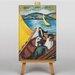 Big Box Art Promenade by the Lake by August Macke Art Print on Canvas