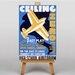 Big Box Art Ceiling Zero Vintage Advertisement