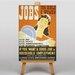 Big Box Art Jobs for Girls Vintage Advertisement