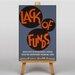Big Box Art Lack of Funds Vintage Advertisement