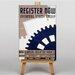 Big Box Art Register Now Vintage Advertisement