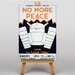 Big Box Art No More Peace Vintage Advertisement