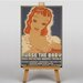 Big Box Art Nurse The Baby Vintage Advertisement