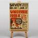 Big Box Art Vaudeville Frolic Vintage Advertisement