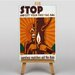Big Box Art Stop Vintage Advertisement