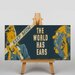 Big Box Art The World Has Ears Vintage Advertisement