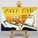 Big Box Art Loose Talk Costs Lives Vintage Advertisement
