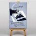 Big Box Art Photograph Exhibition Vintage Advertisement