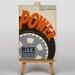 Big Box Art Power Vintage Advertisement