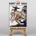 Big Box Art Dont Jay Walk Vintage Advertisement