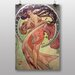 Big Box Art 'Dance' by Alphonse Mucha Art Print
