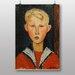 """Big Box Art """"The Blue Eyed Boy"""" by Amedeo Modigliani Art Print"""