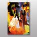 """Big Box Art """"Couple with Daughter"""" by August Macke Art Print"""