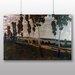 Big Box Art 'Landscape with Trees' by Antonin Slavicek Art Print