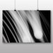 Big Box Art 'Black and White Abstract Blur No.2' Graphic Art