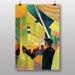 "Big Box Art ""Tightrope Walker No.2"" by August Macke Art Print"