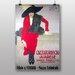 Big Box Art 'Lady in Red' by Adolfo Hohenstein Vintage Advertisement