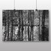 Big Box Art 'Black and White Forest and Lake' Photographic Print