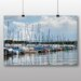 Big Box Art 'Boats in the Harbour' Photographic Print