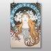 """Big Box Art """"Piece No.12"""" by Alphonse Mucha Art Print"""