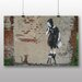 Big Box Art Rat Graffiti No.2 by Banksy Art Print