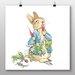 Big Box Art 'Peter Rabbit No.2' by Beatrix Potter Art Print