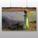 Big Box Art 'Woman by the Water' by Béla Iványi-Grünwald Art Print