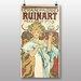 Big Box Art 'Champagne Ruinart' by Alphonse Mucha Vintage Advertisement